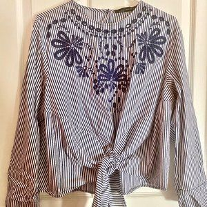 Zara Lace Blouse Shirt